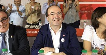 Iceta propone elecciones o plantear en el Senado un pacto de Estado por Catalunya