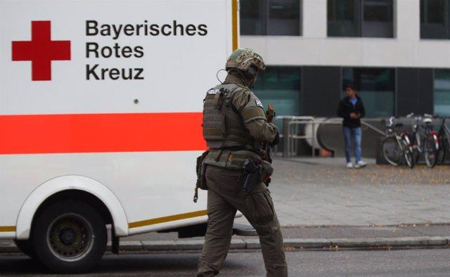 Ataque con cuchillo en Múnich - Octubre de 2017
