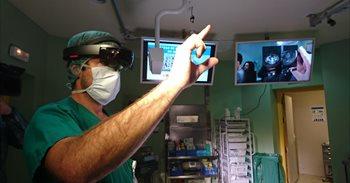 HoloLens de Microsoft protagonizan un proyecto pionero sobre el uso de la realidad mixta en el quirófano