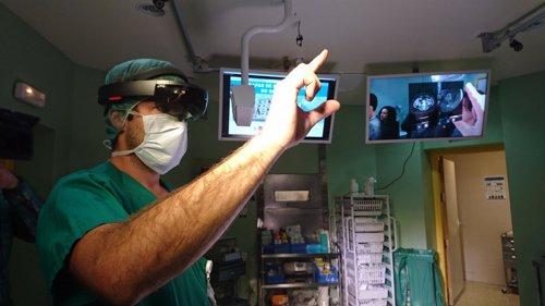HoloLens en  Hospital General Universitario Gregorio Marañón de Madrid