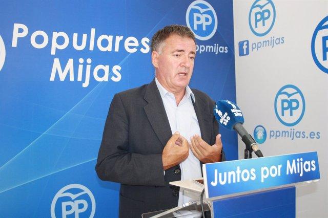 Ángel Nozal, Presidente Del PP De Mijas (Málaga)