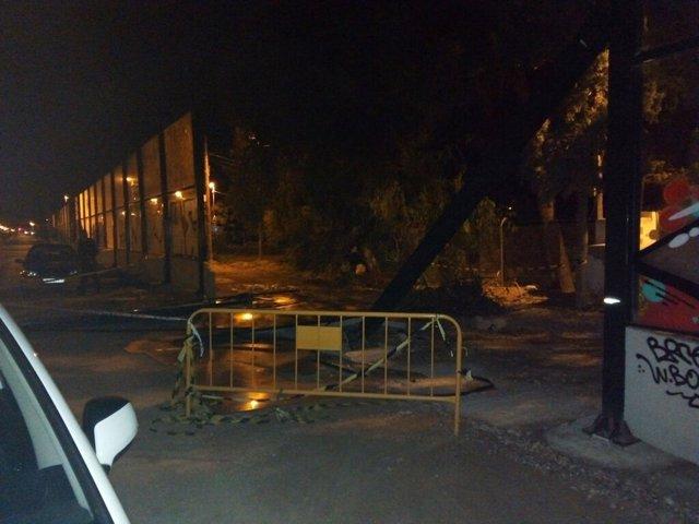 Las obras de soterramiento de las vías sufren el cuarto ataque