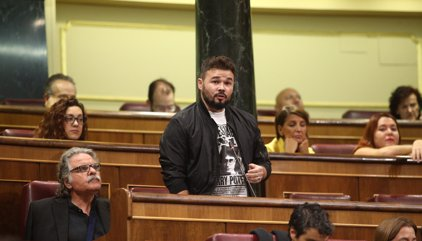 """Rufián (ERC) ve un """"23F"""" del Gobierno e insiste en un Govern de concentración"""