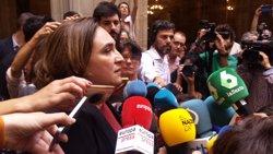 Colau defensa un front comú contra el 155 i retreu el suport del PSOE a Rajoy (EUROPA PRESS)