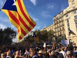 La Taula per la Democràcia rebutja el 155 i exigeix la llibertat de Sànchez i Cuixart (EUROPA PRESS)