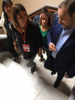 Valladolid.- López y Ábalos, en el congreso