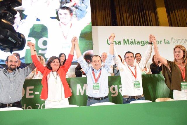 Ruiz Espejo, proclamado nuevo secretario del PSOE DE Máalga con Ejecutiva