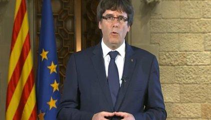 """El PP contesta a Puigdemont: """"Apela a la democracia quien la pisotea infringiendo la Constitución y el Estatuto"""""""