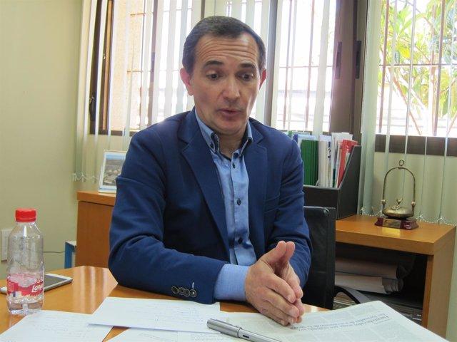 El delegado de Economía, Manuel Ceada.