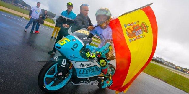 Joan Mir campeón Moto3 Australia