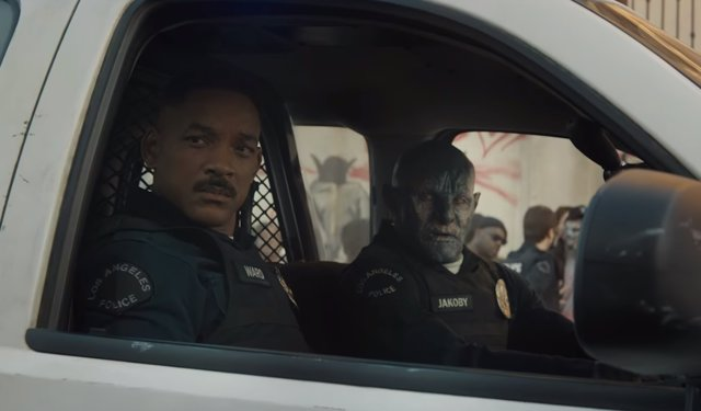 Will Smith y Joel Edgerton en 'Bright'