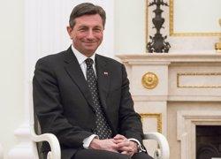Pahor es perfila com a clar favorit a la reelecció en les presidencials d'aquest diumenge a Eslovènia (REUTERS / POOL NEW)