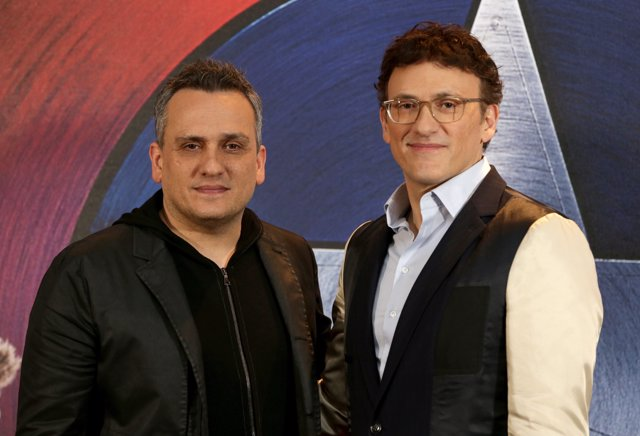 Directors Joe Russo (left) and Anthony Russo attending the Captain America Civil