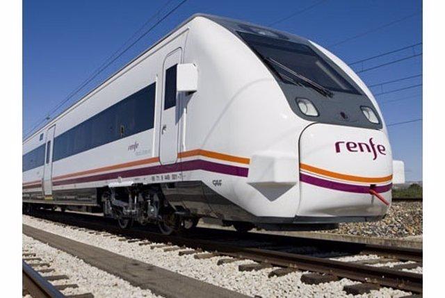 Tren de servicio Regional de Renfe