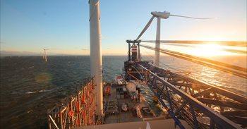 Iberdrola cuenta con una cartera de proyectos de 8.000 MW para crecer en eólica marina en la próxima década