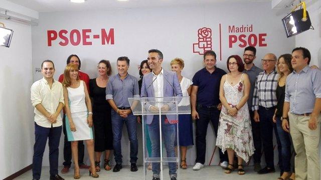 González Jabonero presenta su candidatura