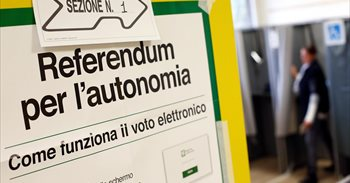 Lombardía y Véneto votan en una consulta no vinculante sobre una mayor autonomía dentro de Italia