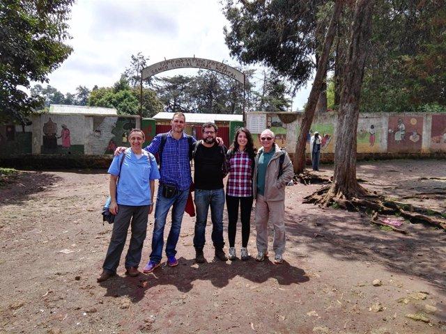 Profesionales en Etiopía