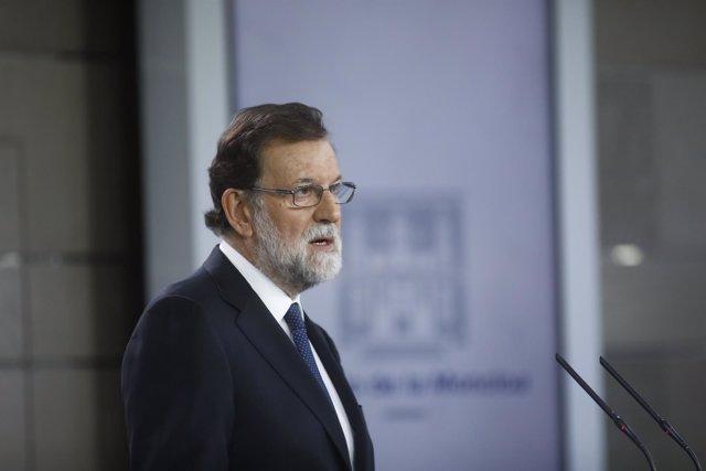 Rajoy anuncia las medidas del 155 tras el Consejo de Ministros