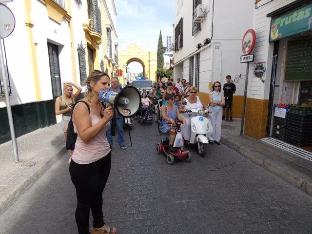 Paseo por la Accesibilidad Universal convocado en Sevilla
