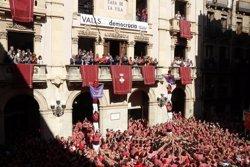 Valls dedica la diada castellera de Santa Úrsula a Jordi Sànchez i Jordi Cuixart (ACN)