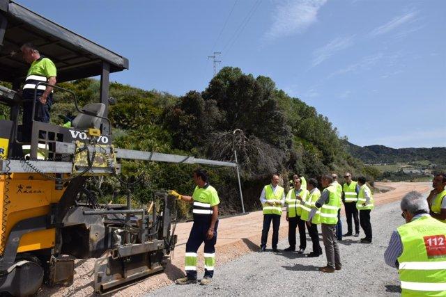 Obras 1-377 manilva gaucín málaga carretera