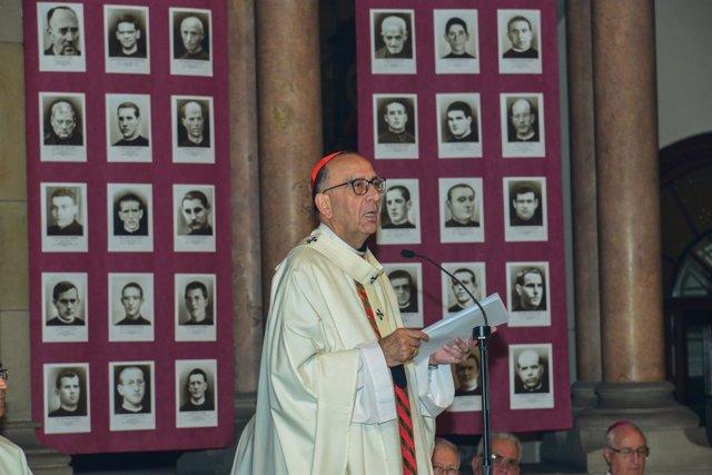 El arzobispo de Barcelona, Joan Josep Omella
