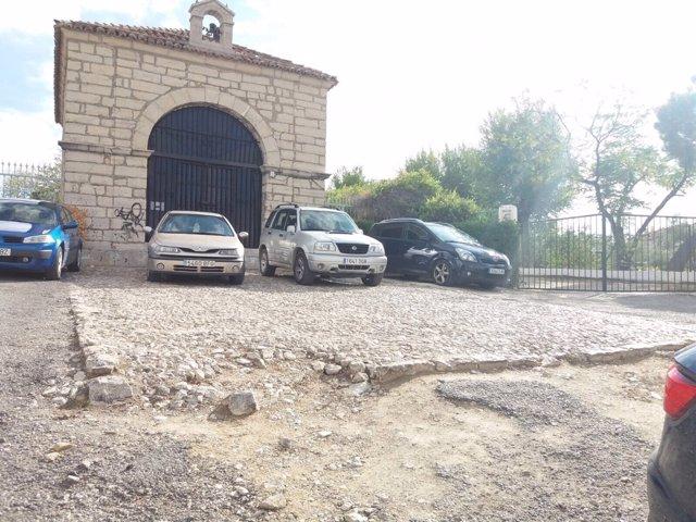 PSOE pide el arreglo de camino de acceso a cementerio de San Eufrasio de Jaén
