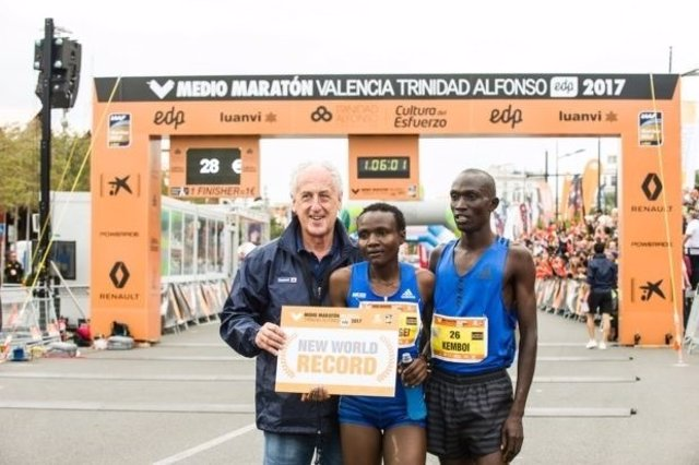 Joyciline Jepkosgei Medio Maratón Valencia Trinidad Alfonso EDP