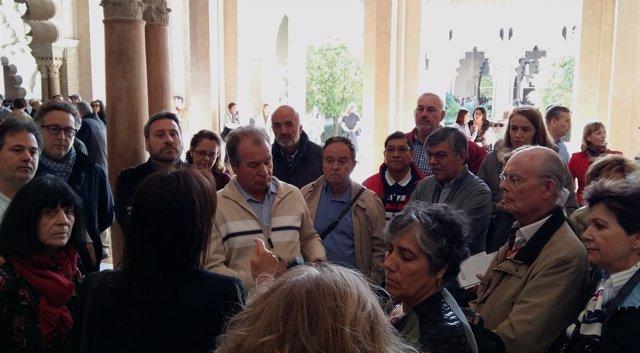 Visita al Palacio de la Aljafería este domingo.