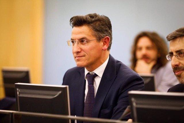 El diputado de Ciudadanos Luis Salvador