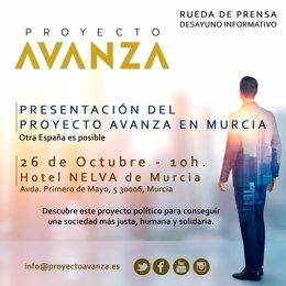 Presentación del Proyecto Avanza