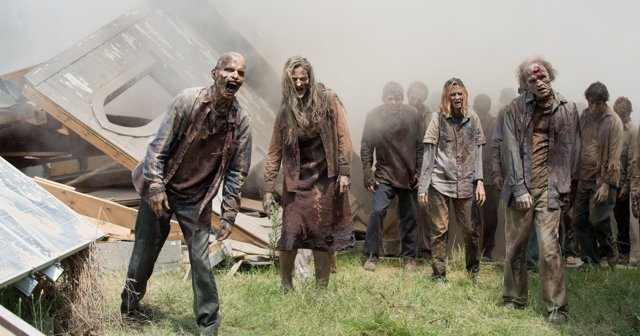 LOS ZOMBIES DE THE WALKING DEAD