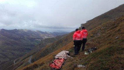 Fallece un excursionista en los Collados del Asón