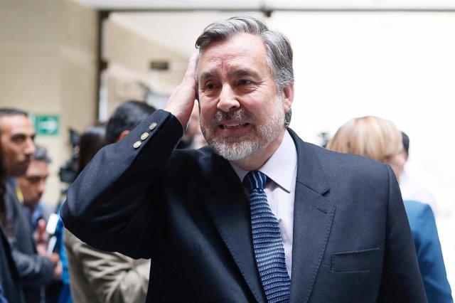 El senador y precandidato presidencial chileno Alejandro Guillier