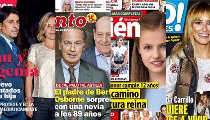 El padre de Bertín estrena novia, Isabel Preysler enfada a los Verdasco y la obsesión por Isabel Pantoja