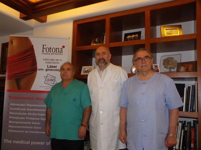 Doctores Jimenez, Vizintin y Torrecillas