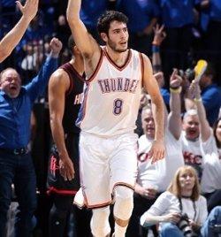 Wiggins executa els Oklahoma Thunder amb un triple empat sobre la botzina (OKLAHOMA CITY THUNDER)