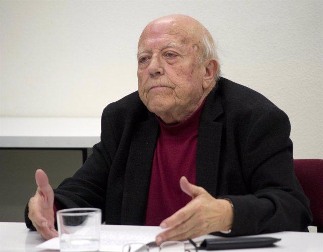 El escritor vallisoletano José Jiménez Lozano
