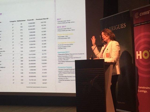 Presentación del informe de turismo en Baleares Christie & CO