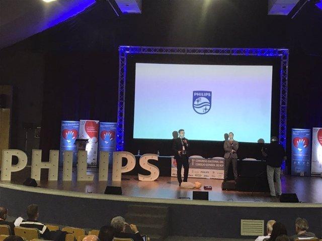 Presentación del nuevo desfibrilador Philips