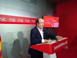 Iceta descarta una consulta en el PSC sobre el 155 i rebutja trencar amb el PSOE (EUROPA PRESS)