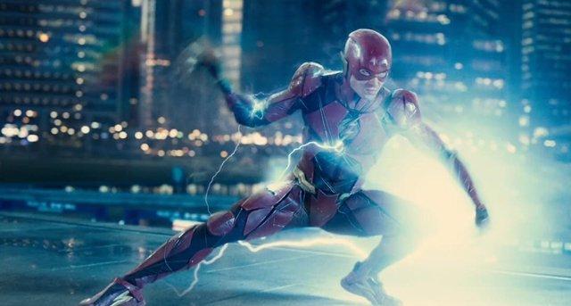 The Flash en Liga de la Justicia