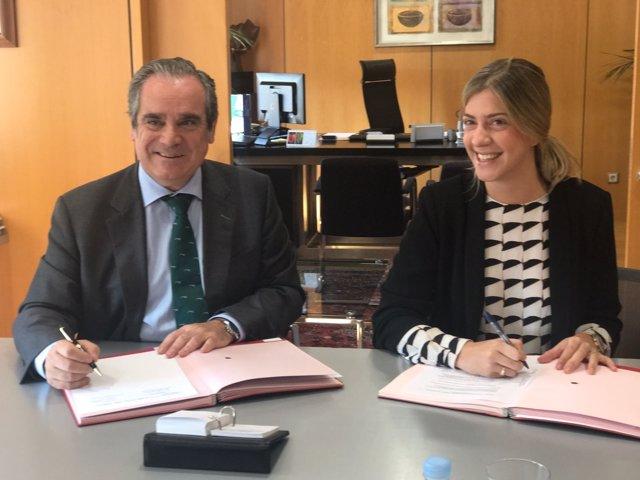 Jesús Aguilar y María Benjumea