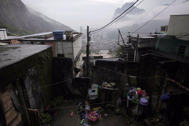Favela De Rocinha, En Río De Janeiro