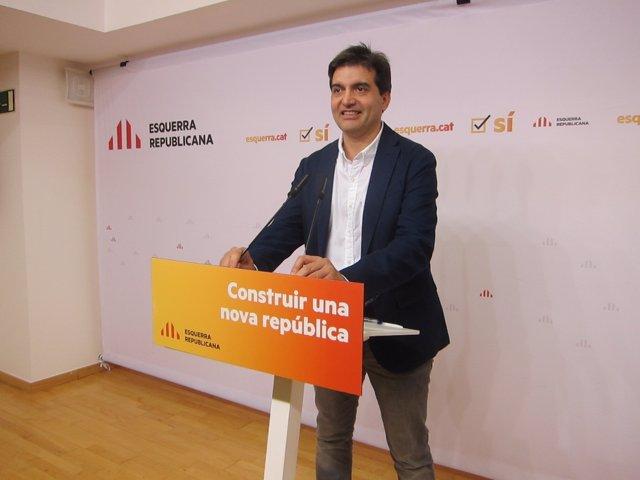 Salvador Sabrià, ERC (Archivo)