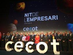 Farggi La Menorquina i el CN Sabadell, entre els premiats a la Nit de l'Empresari de Cecot (EUROPA PRESS)