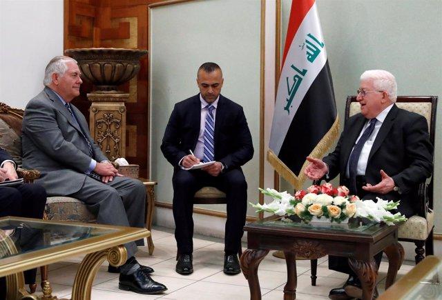 Tillerson en Bagdad