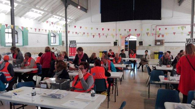 Proceso de participación ciudadana, votación de once plazas