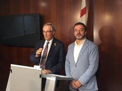 Trias (Demòcrata) i Bosch (ERC) prometen